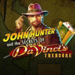 John Hunter and the secret of Da Vinci's Treasures Logo