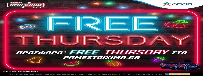 Pamestoixima Casino Free Thursday