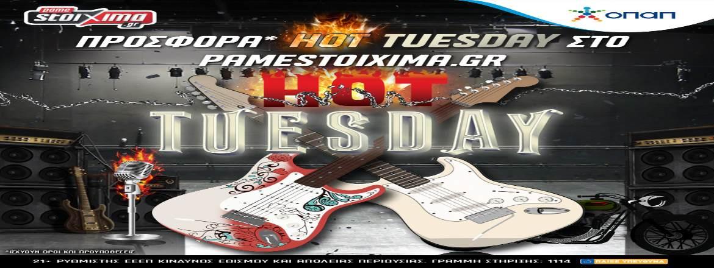 Pamestoixima Casino Hot Tuesday